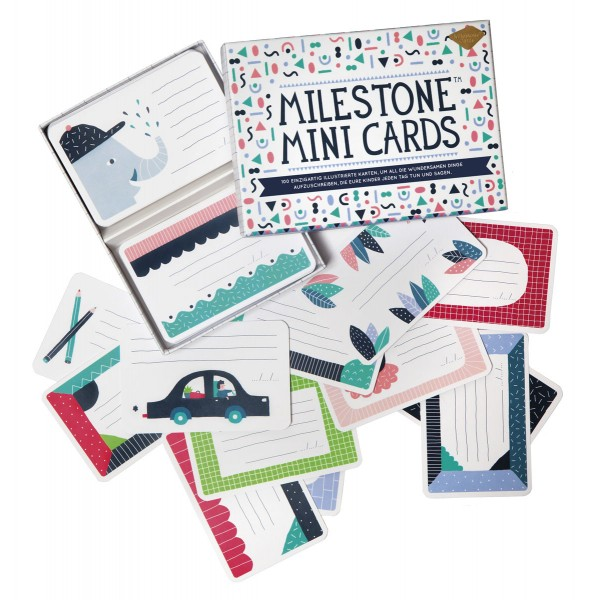 Milestone Mini Cards Box Deutsch