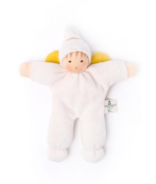 Öko Baby Nanchen Engel mit Mütze – Greifling