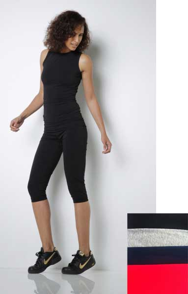 3/4-Sporthose – Yogahose aus Bio Baumwolle