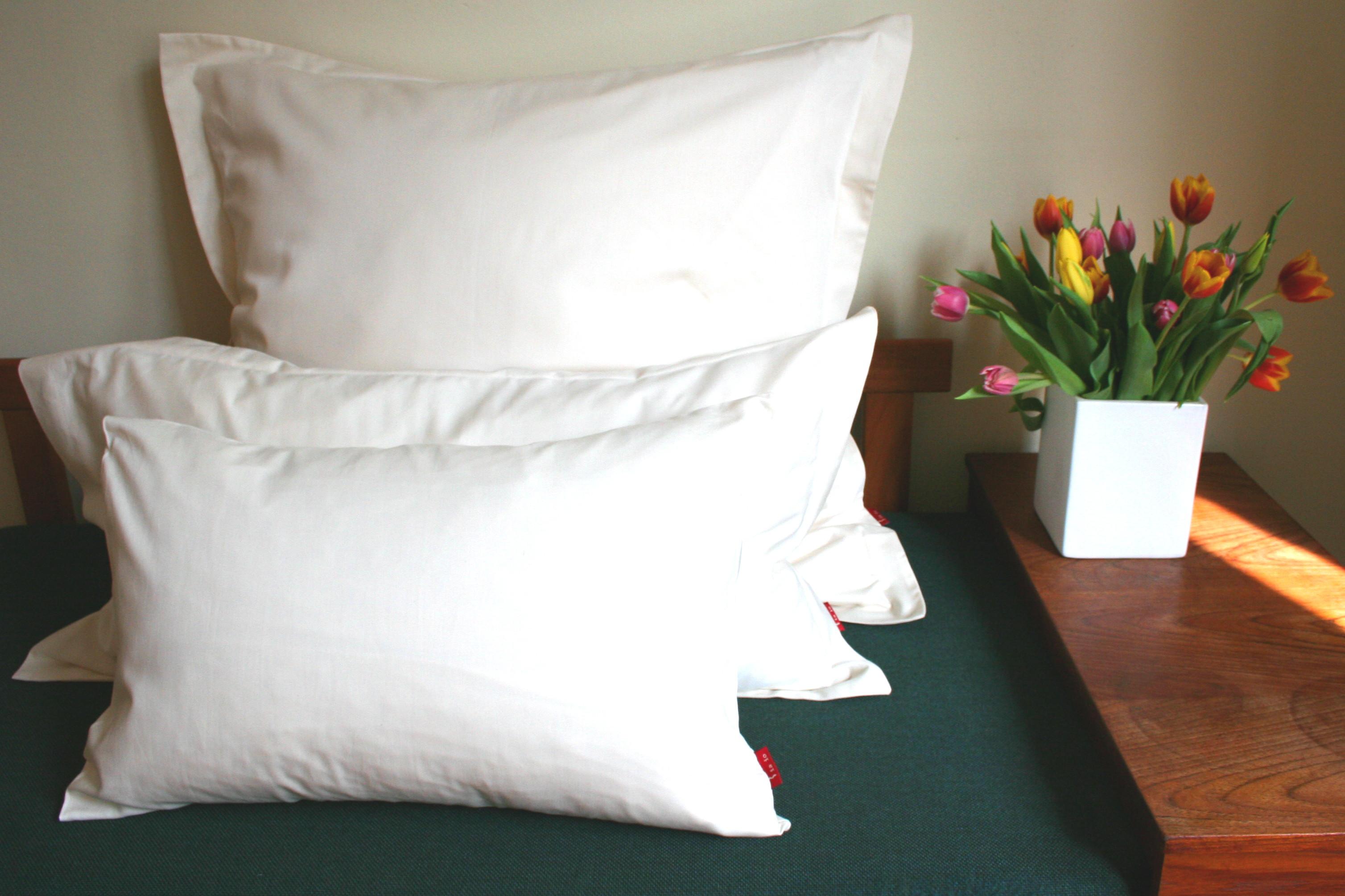 Kissenbezug Satin Pure aus edlem Bio-Baumwollsatin