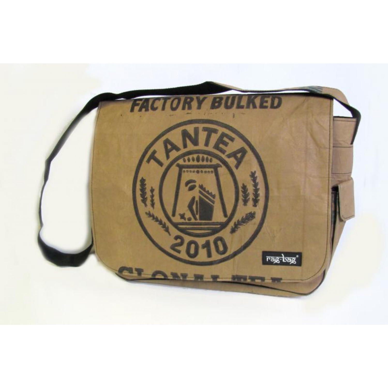 Laptop-Tasche Teabag - recycelte Teeverpackungen | Ragbag