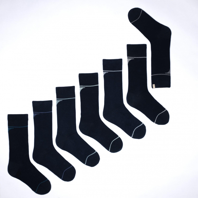 URU SOLOSOCKS United Bio-Baumwoll Socken