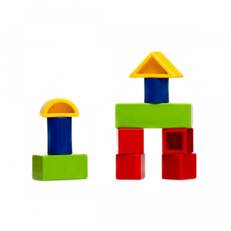 Bauklötze Set aus Biokunststoff & Bio-Farben