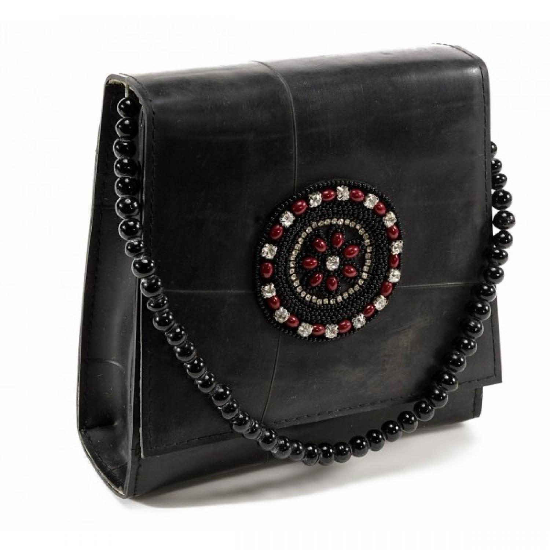 Handtasche | Upcycling Tasche mit Seide