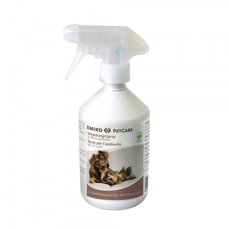Emiko PetCare Umgebungsspray Geruchsentferne für Hund und Katze