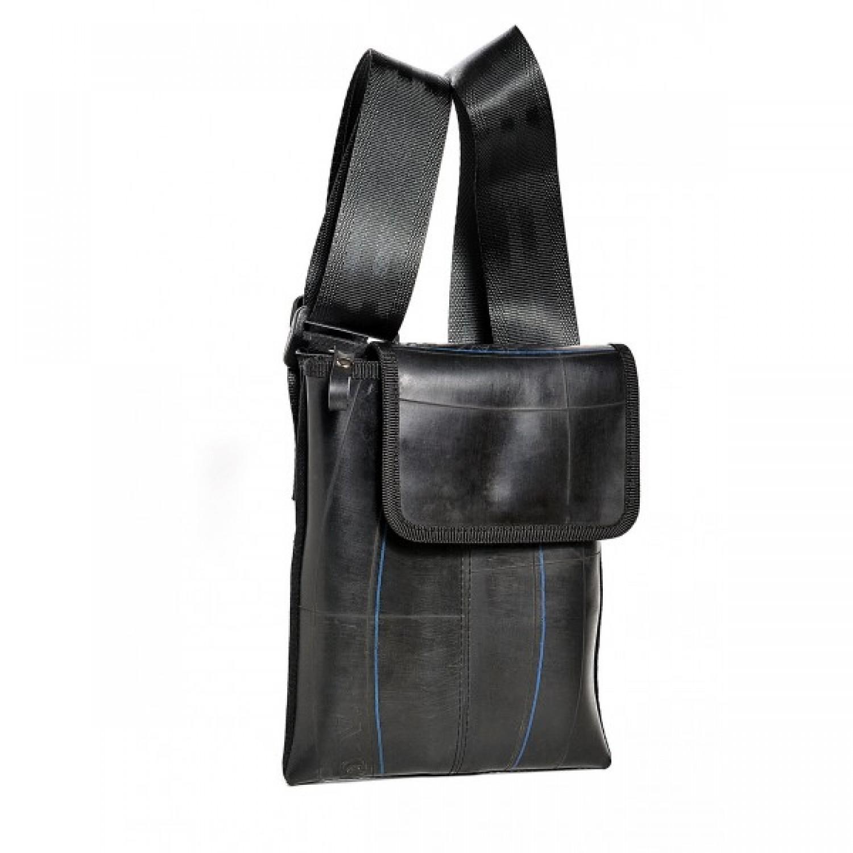 Handtasche aus recyceltem Fahrradschlauch