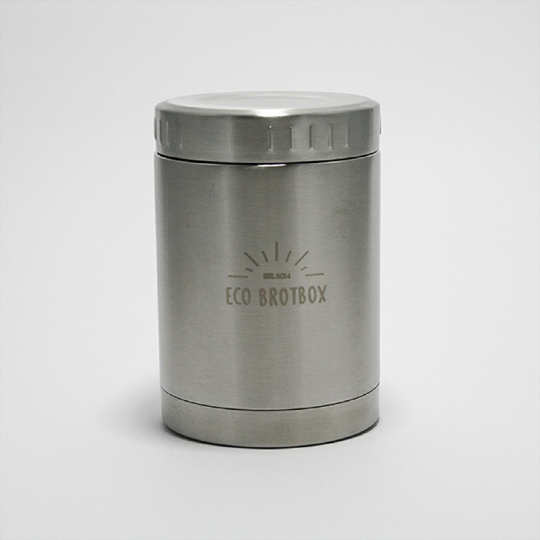 Isolierbehälter BO 0,5 L aus Edelstahl | Ecobrotbox