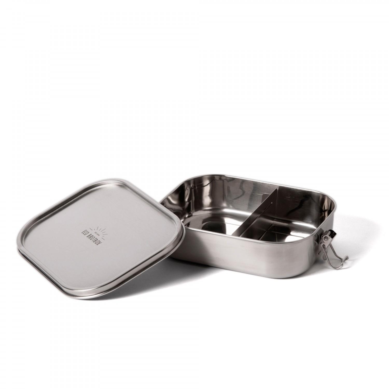 ecobrotbox Bento Flex+ Edelstahl Lunchbox, auslaufsicher