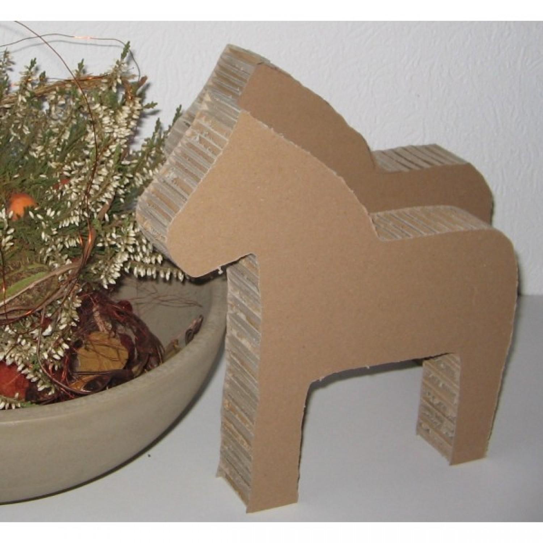 Alex, das Pferd aus Pappe zum Basteln | Papp à la Papp
