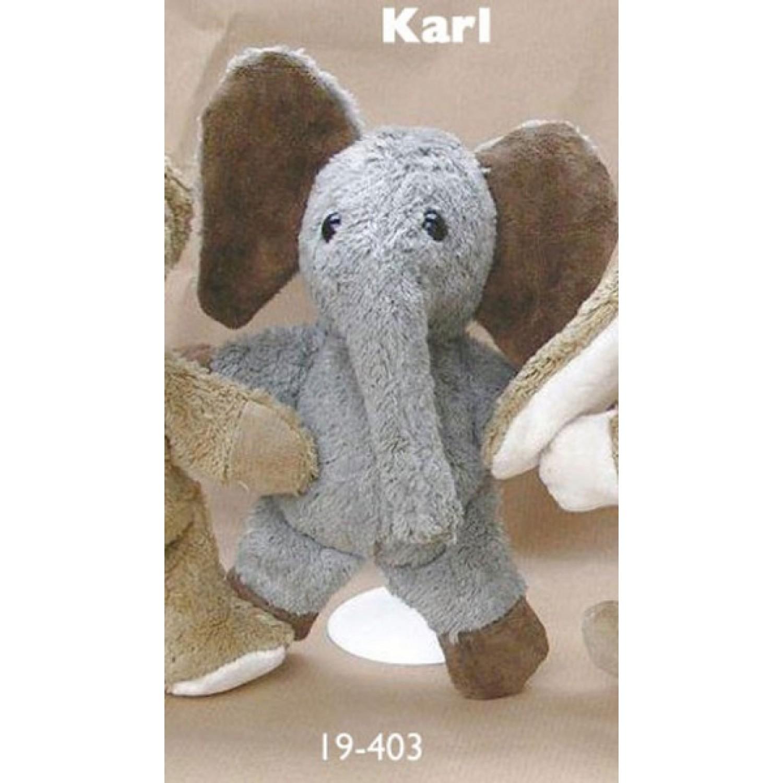 Knuffel-Elefant Karl Bio Baumwolle von Kallisto