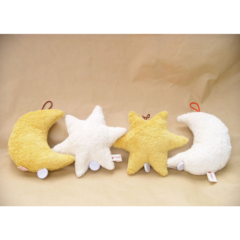 Vegane Spieluhr aus Bio-Baumwolle   Kallisto