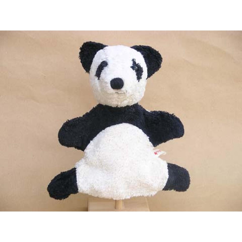 Panda Handpuppe aus Bio-Baumwolle | Kallisto