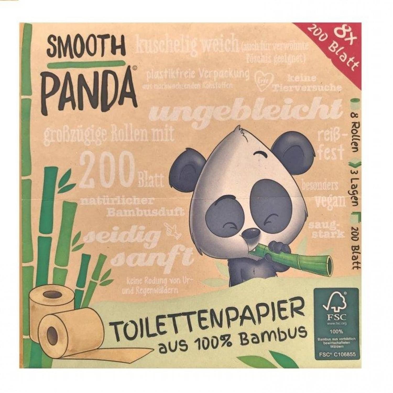 Veganes Bambus Toilettenpapier