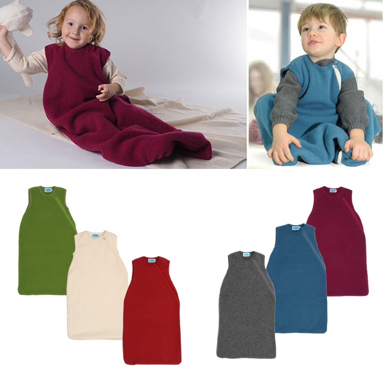 Baby Fleeceschlafsack ohne Arm aus Bio Wolle   Reiff