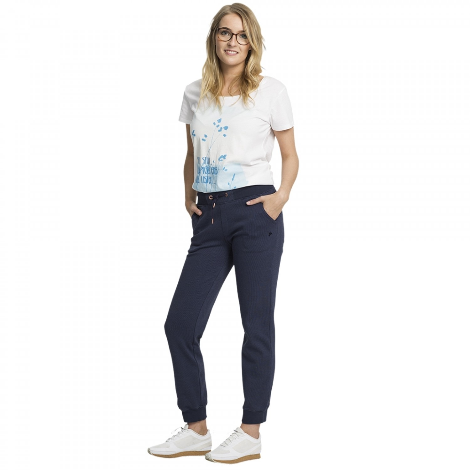 Fair Trade Jogginghose Damen CLASSIC Blau | recolution