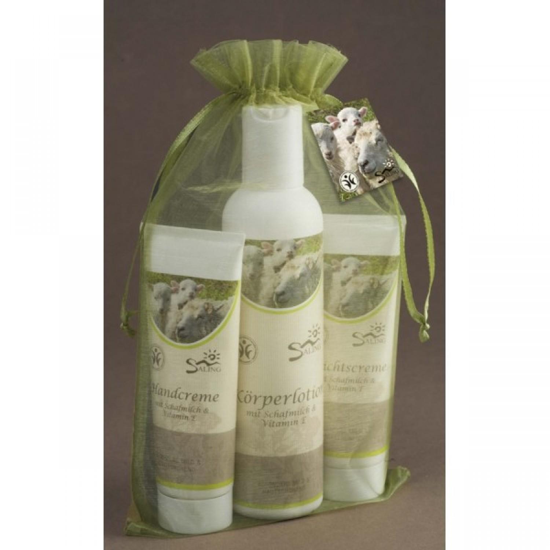 Körperpflege Set Schafmilchkosmetik | Saling Naturprodukte