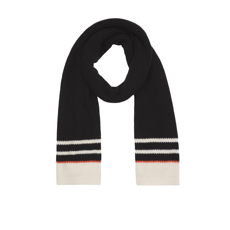 Knit Scarf black - Schal aus Bio-Baumwolle | People Tree