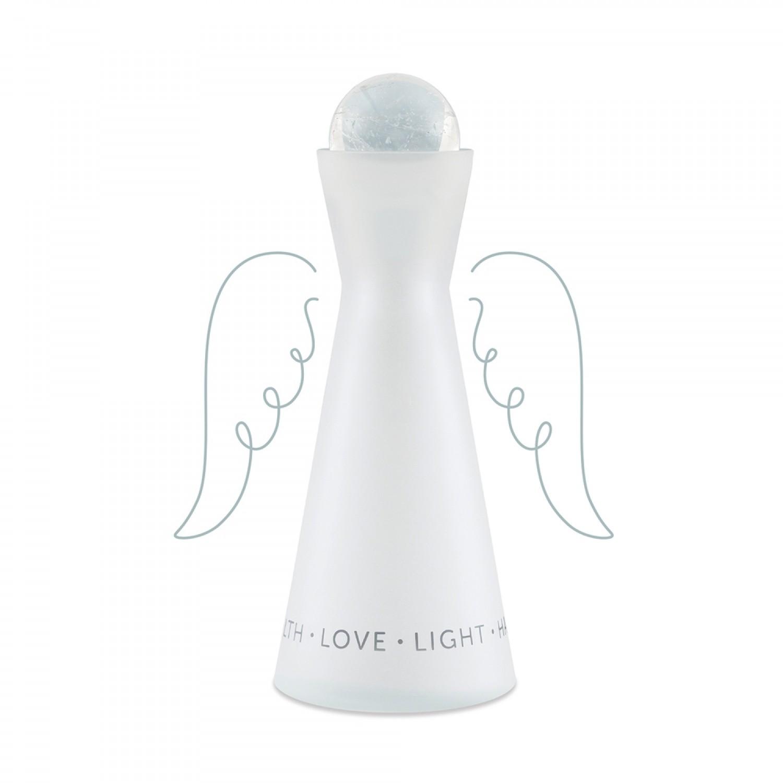 Angel's Choice Karaffe, Englische Affirmationen & Bergkristall | Nature's Design