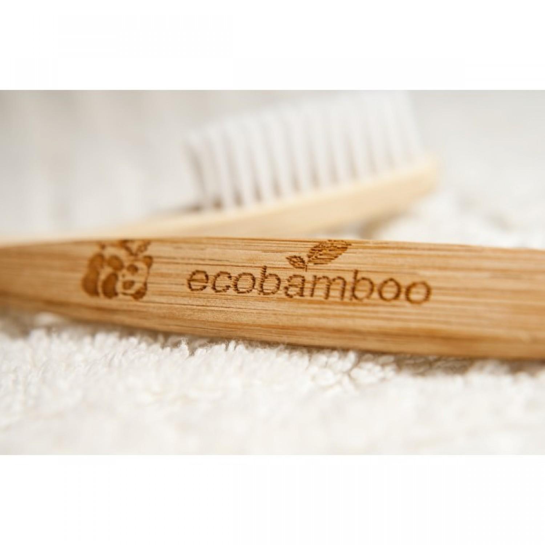 Natürliche Zahnbürste aus Bambus | ecobamboo