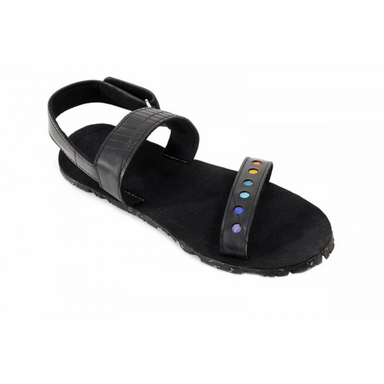 Herren Sandalen aus Autoreifen   Recycling Schuhe