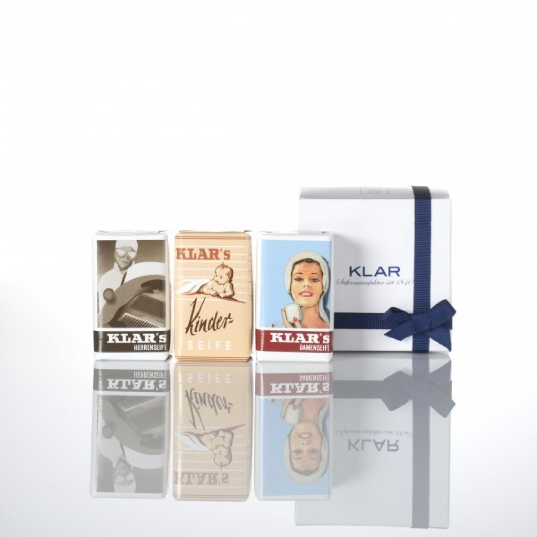 Bio & Vegan Seifen Geschenkset | Klar's