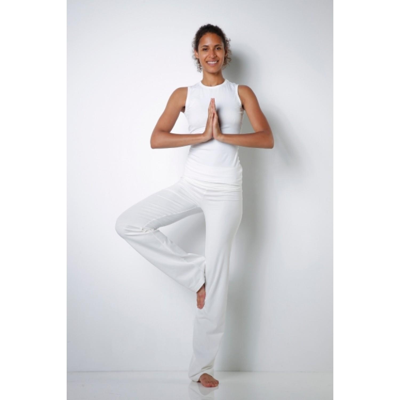 Stretch Bio Yogahose aus Bio-Baumwolle verschiedene Farben