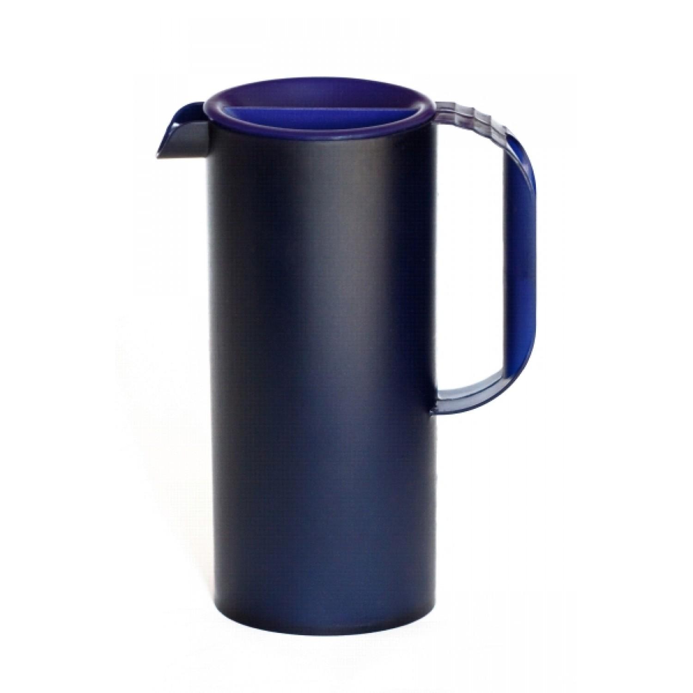 Öko Saftkanne aus Biokunststoff blau