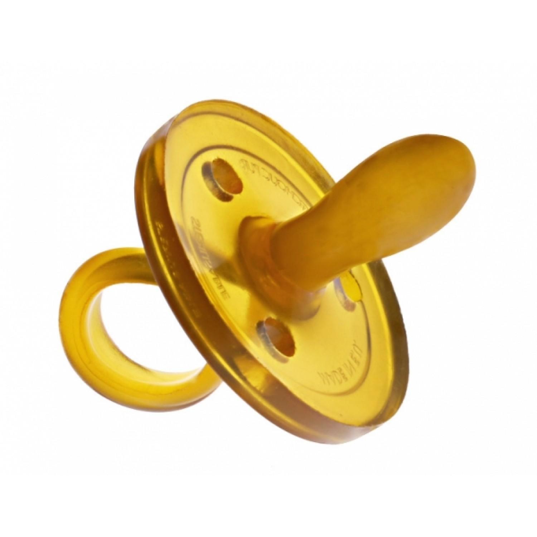 Schnuller Naturform oval L ab 6 Monate | Goldi Sauger