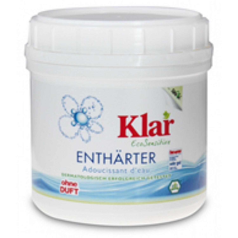 Wasserenthärter ohne Duftstoffe - vegan | Klar