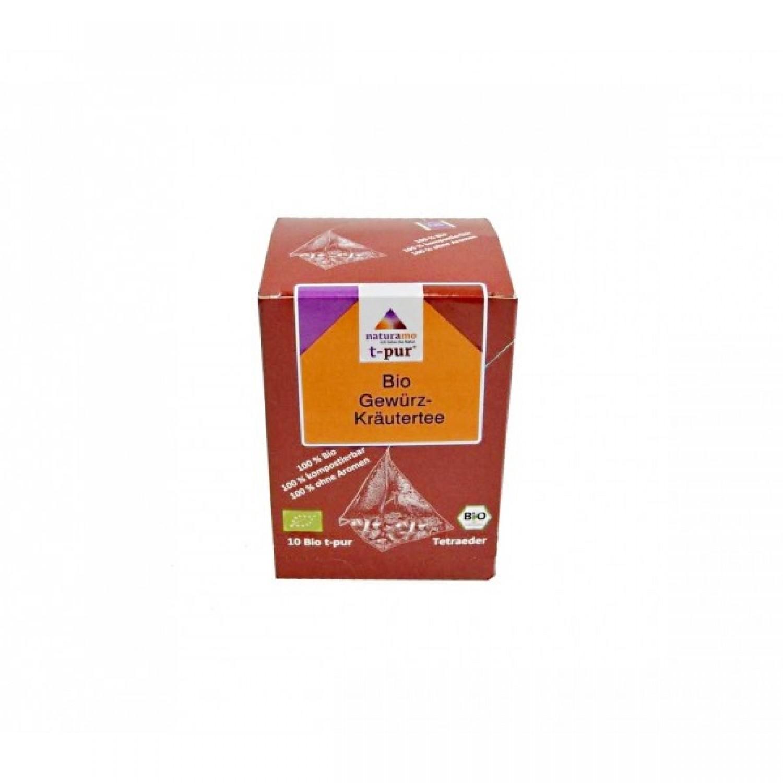 Bio-Gewürz-Kräutertee im Teebeutel | naturamo