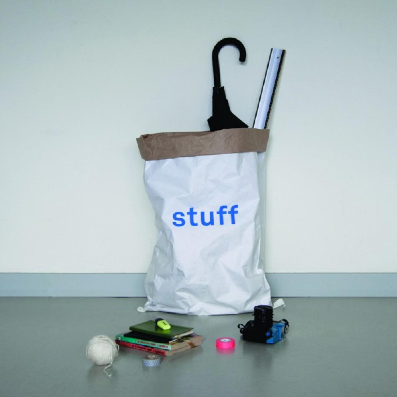 Alt Papiersack Stuff aus Recycling Papier | kolor