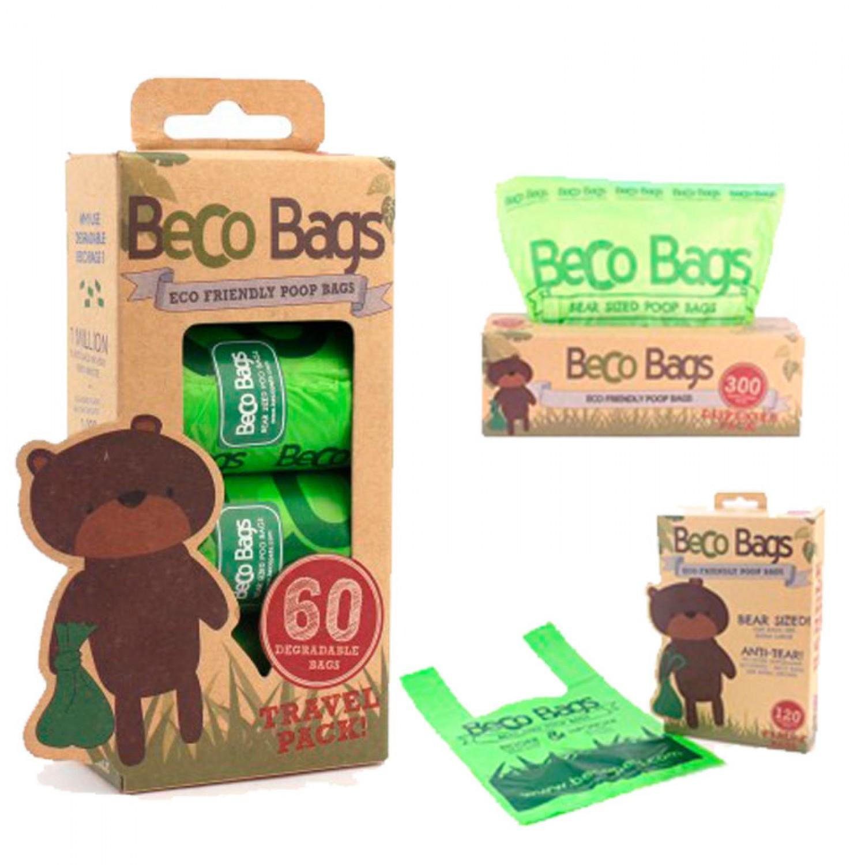 Beco Pets Bio Hundekotbeutel verschiedene Mengen