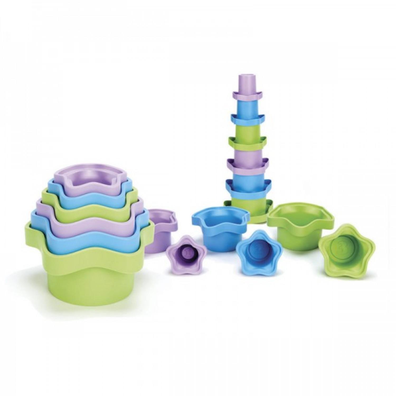 Green Toys Stapelförmchen aus Recycling-Plastik