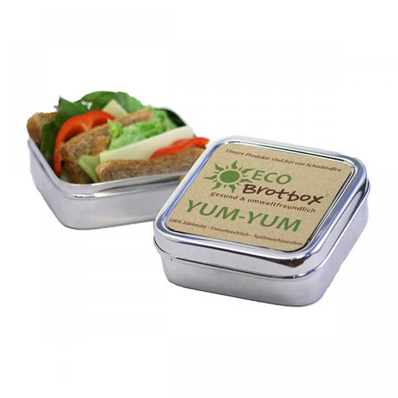 Brotbox Classic – Lunchbox aus Edelstahl