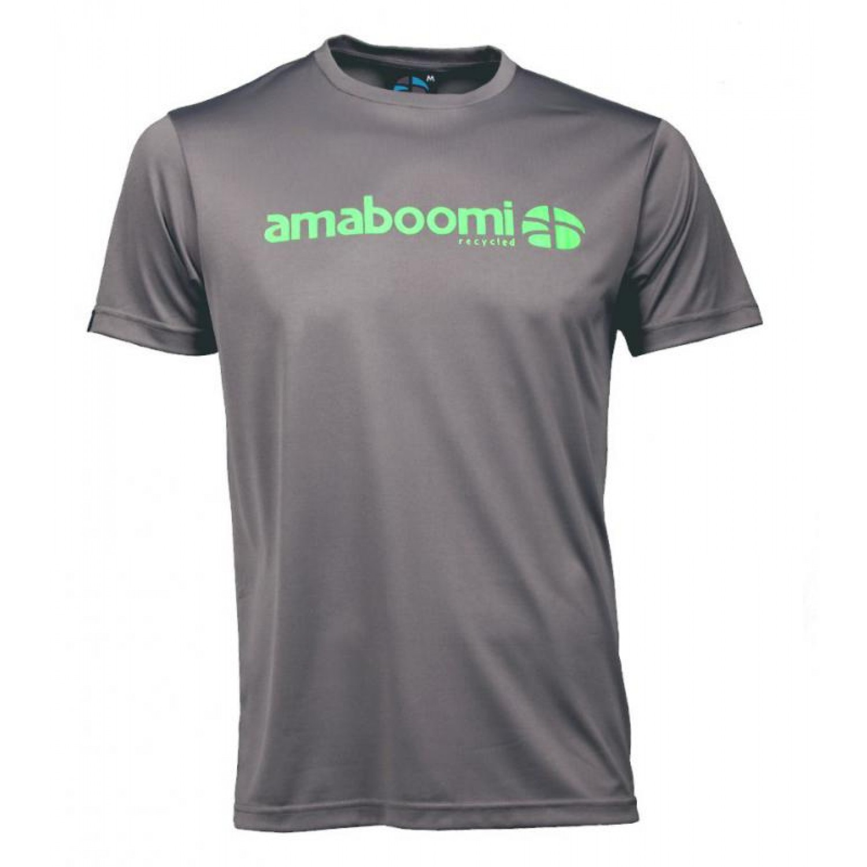 Herren T-Shirt DALLOL 100% recycled – Aschgrau