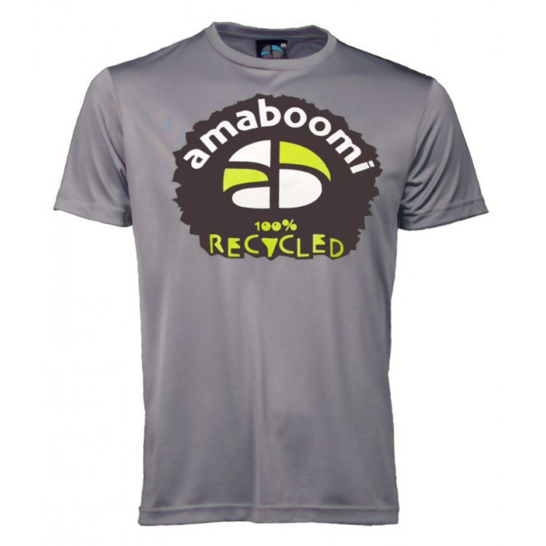 Herren T-Shirt MERAPI 100% recycled – Aschgrau