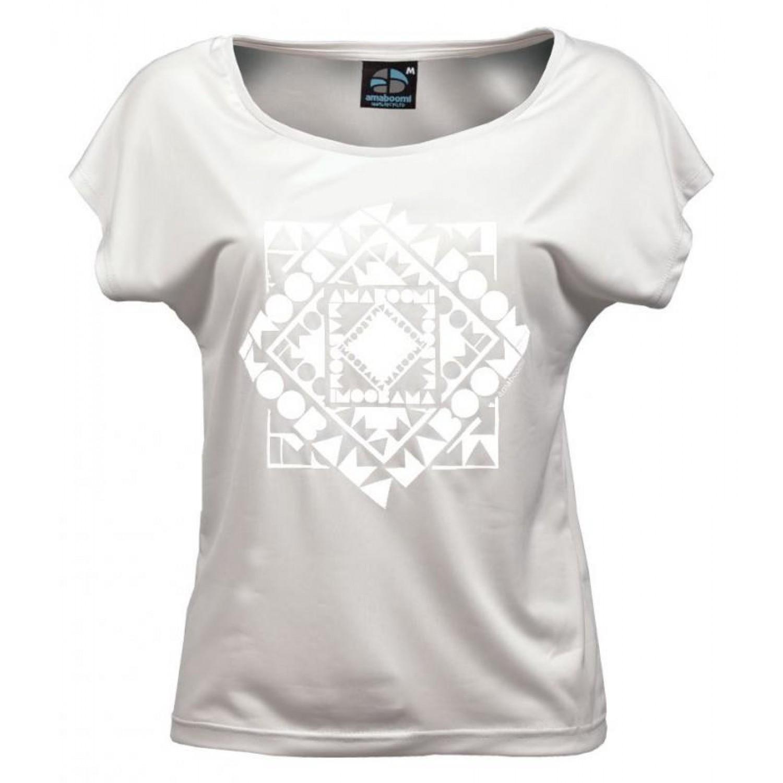 Damen T-Shirt CHACHACOMANI 100% recycled – Weiß