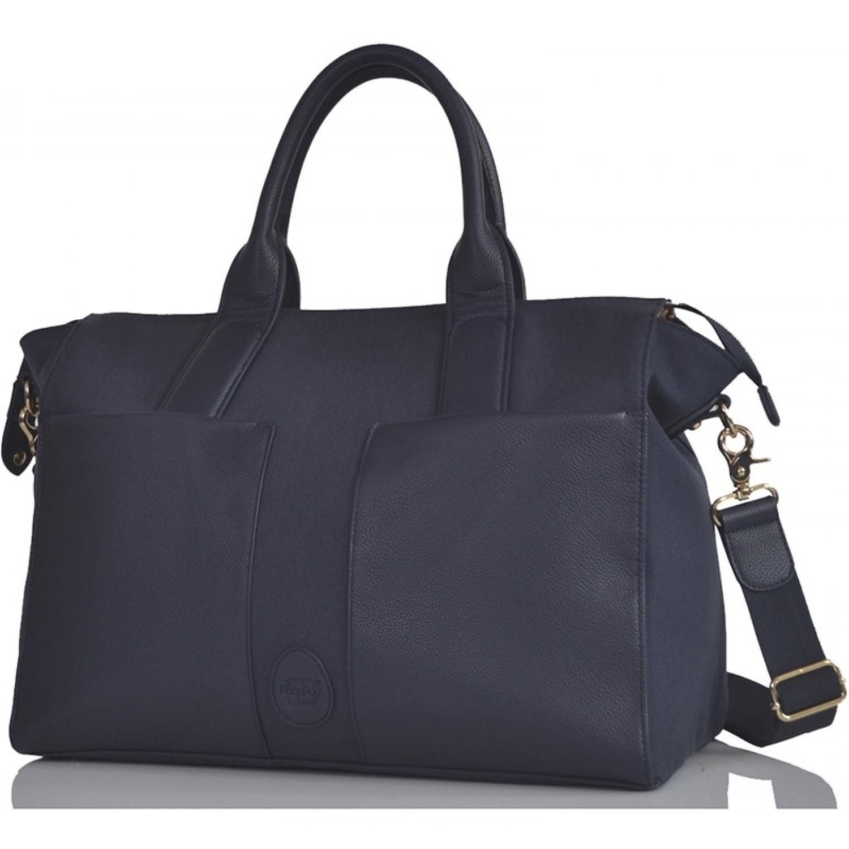 Croyde Navy, blaue Öko Wickeltasche & Handtasche | PacaPod