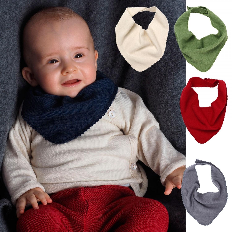 1318d52dd4b247 Reiff Baby Dreieckstuch   Schal aus Bio Wolle   Seide
