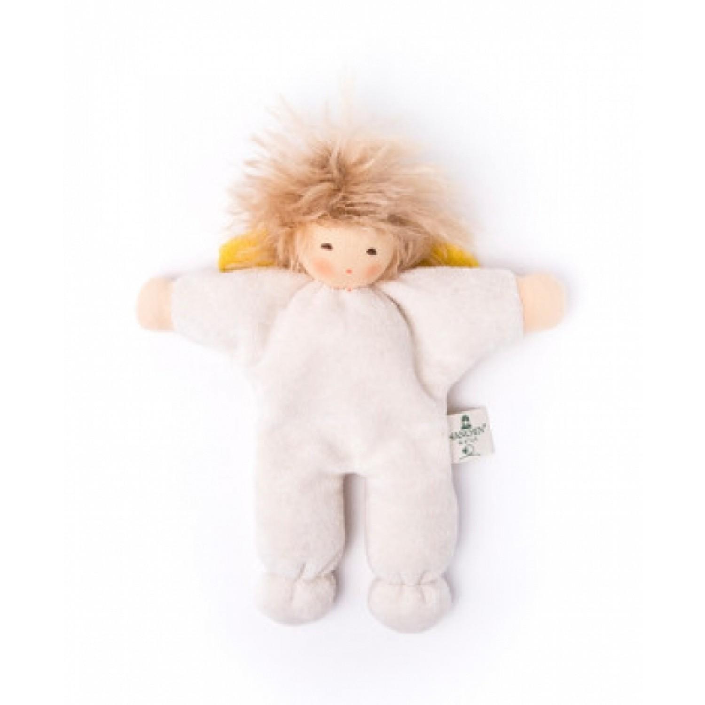 Bio Baby Greifling Engel mit Haaren | Nanchen Natur