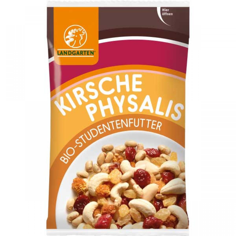 Vegan Snack: Studentenfutter Kirsche-Physalis | Landgarten