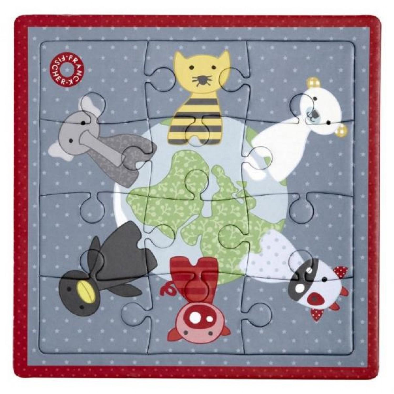 Kinder Puzzle Frey aus Recycling-Karton