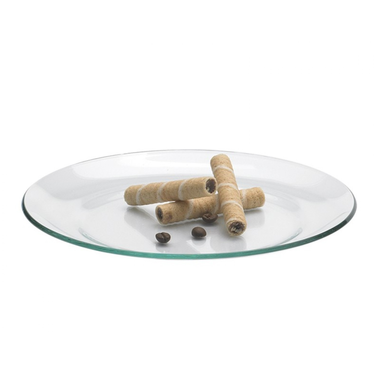 Glas Kuchenteller + Servierteller Ø 19cm