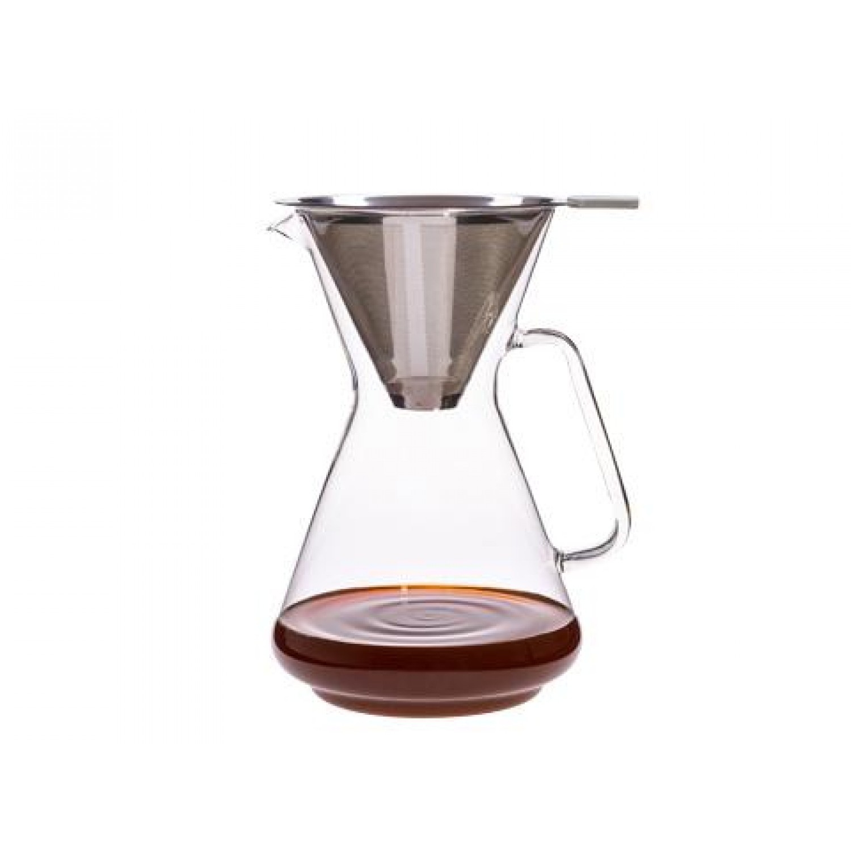Kaffeebereiter BRASIL Edelstahlfilter | Trendglas Jena