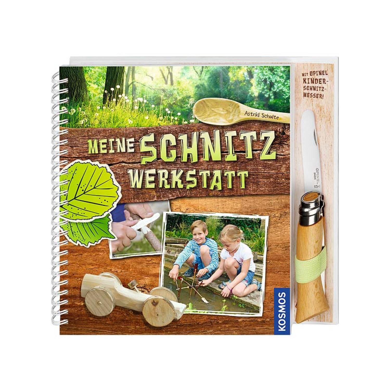 Kinderbuch Meine Schnitzwerkstatt mit Opinel-Kindermesser