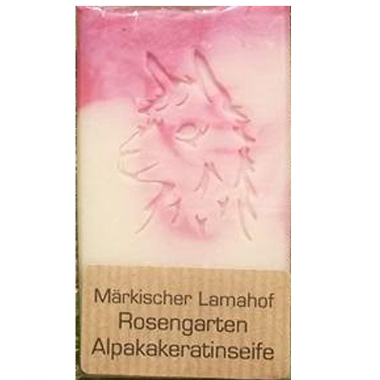 Alpaka Keratin Rosengarten Naturseife | laRiSavon