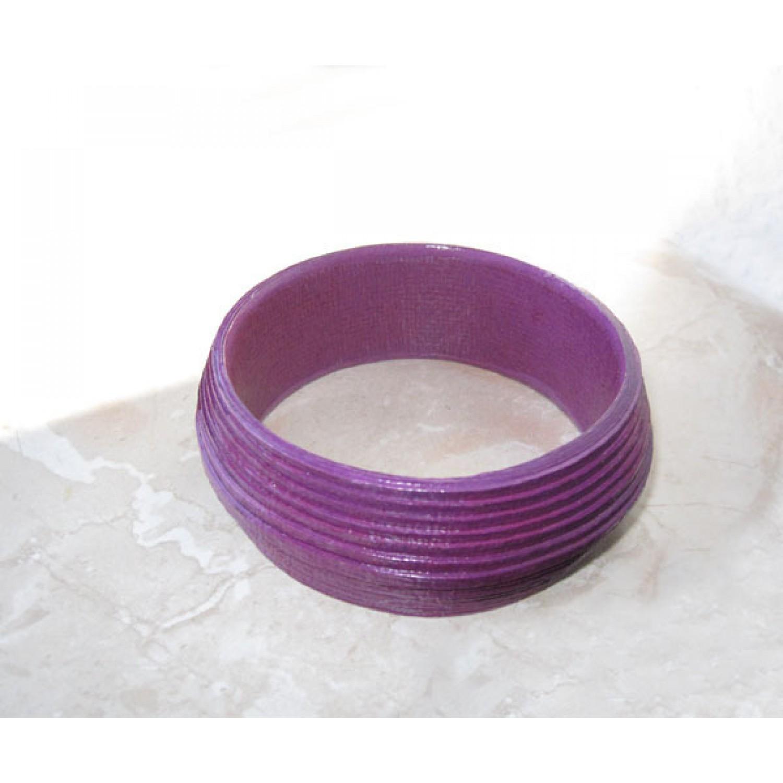 Edler Öko Armreif in Violett | Sundara Paper Art