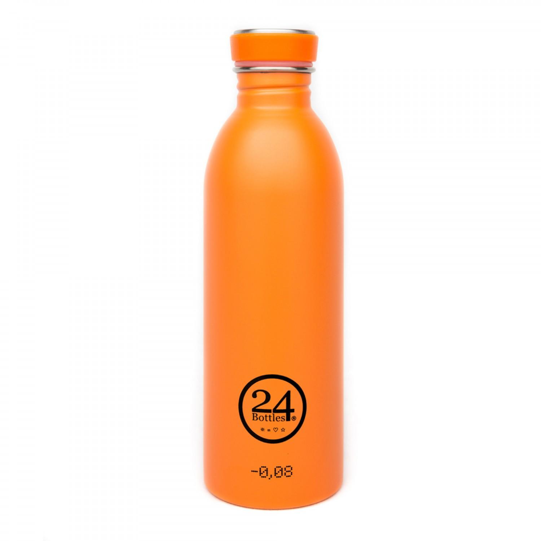 Edelstahl Trinkflasche 0,5L total orange | 24Bottles