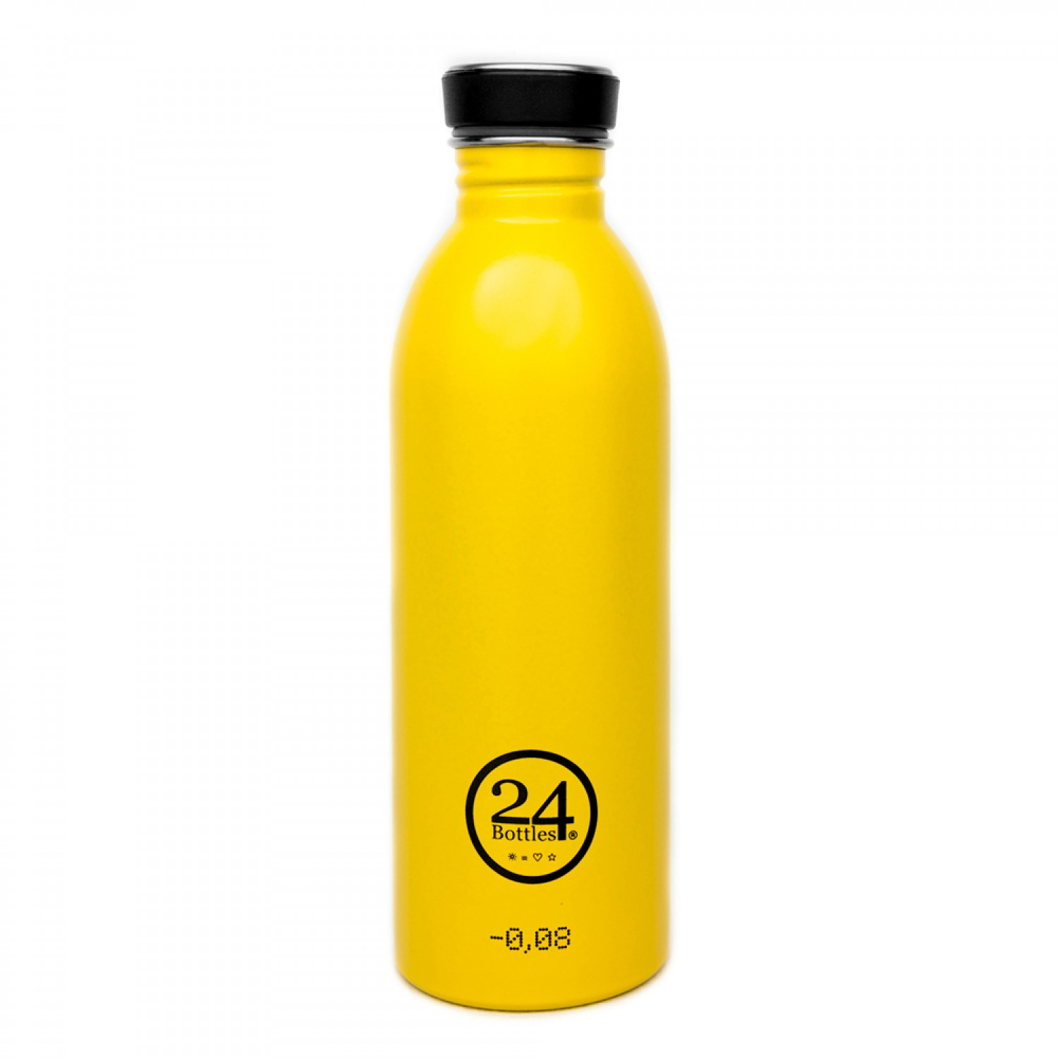 Edelstahl Trinkflasche 0,5L taxi yellow | 24Bottles