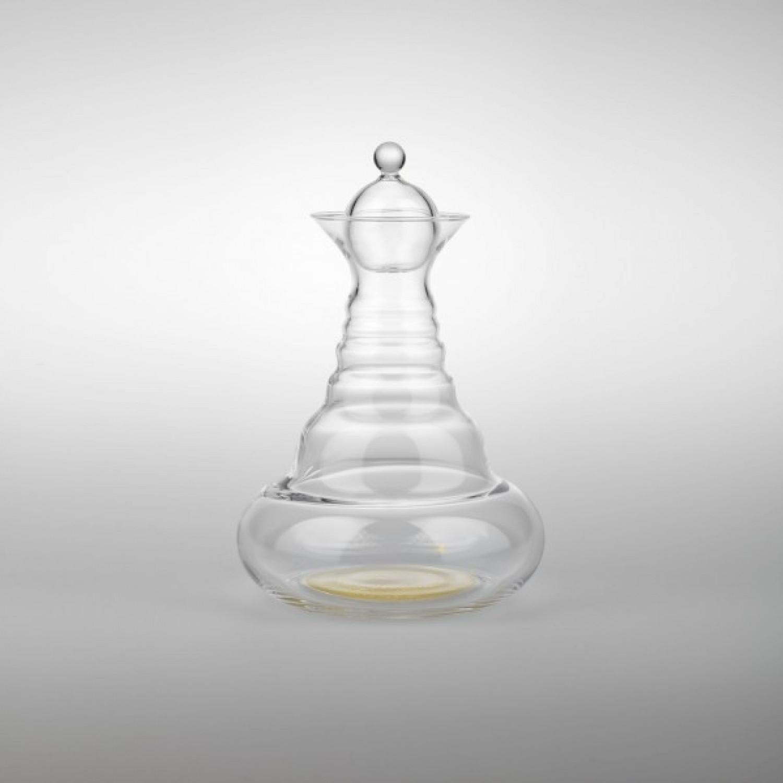 Nature's Design Alladin Karaffe 1,3 l Blume des Lebens Gold